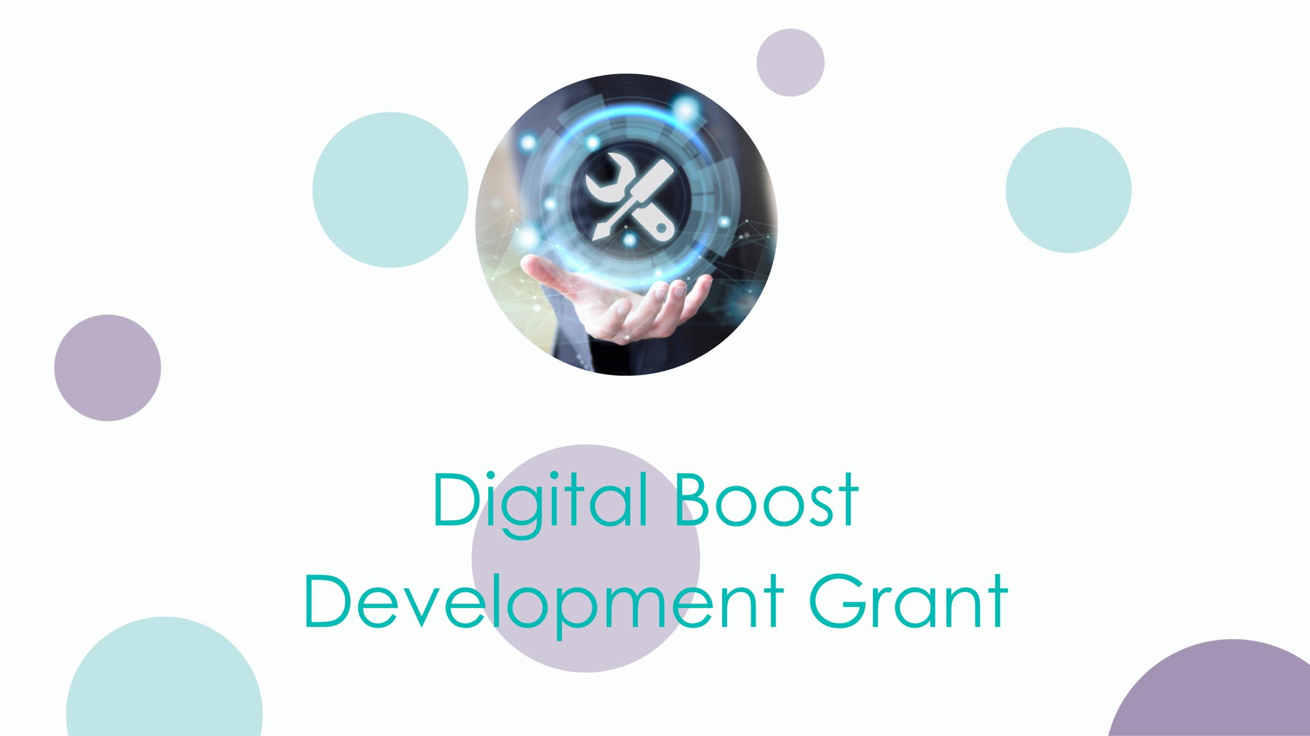 Digital Boost Development Grant In High Demand