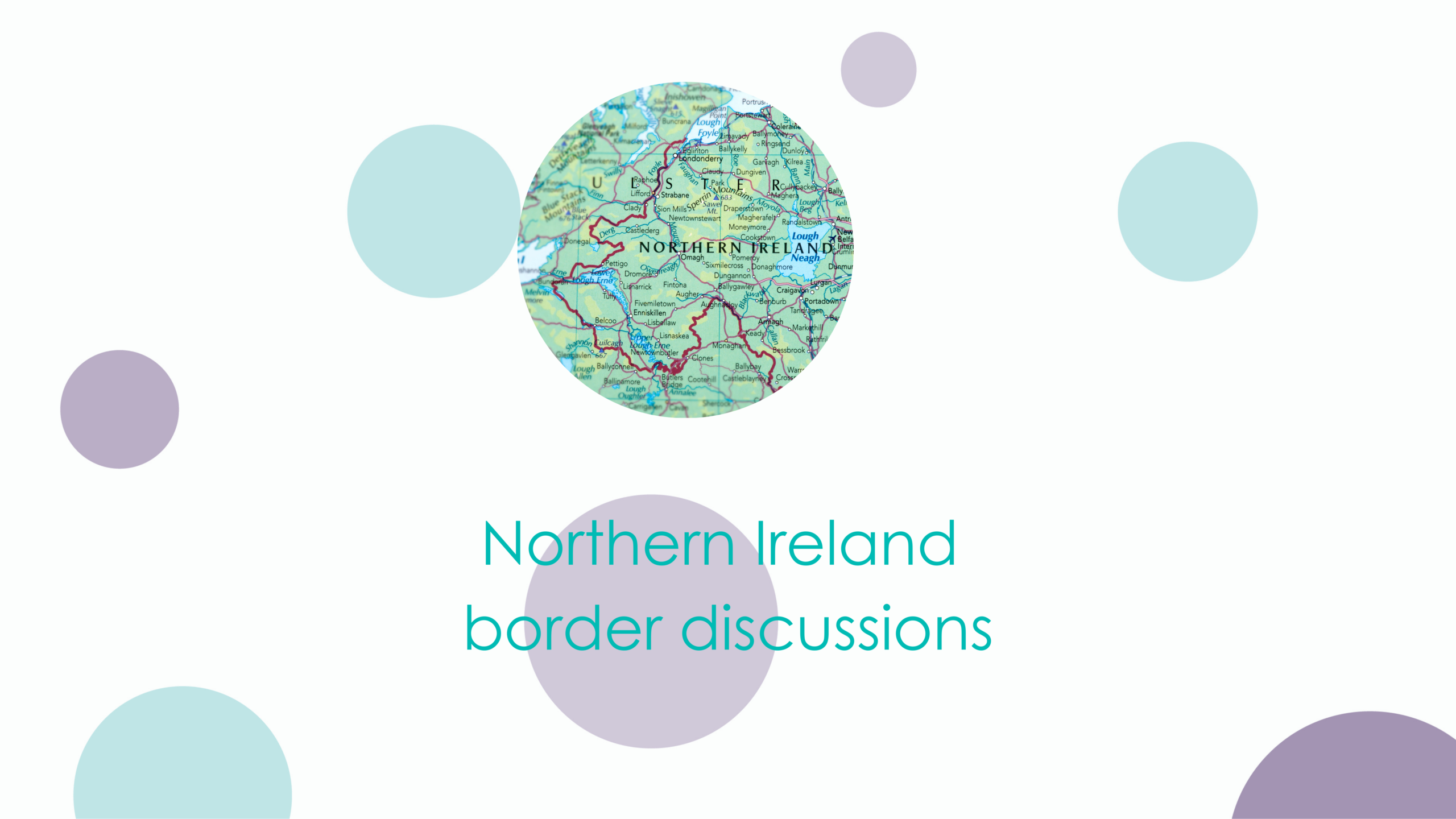 Northern Ireland border discussions