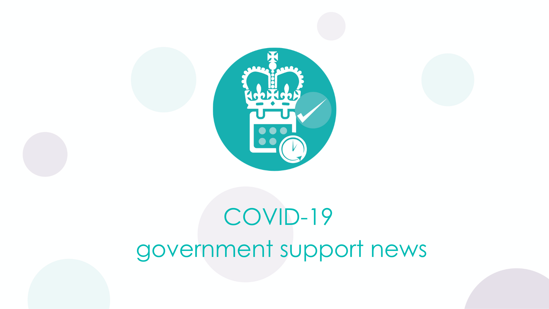 COVID-19 Government support news