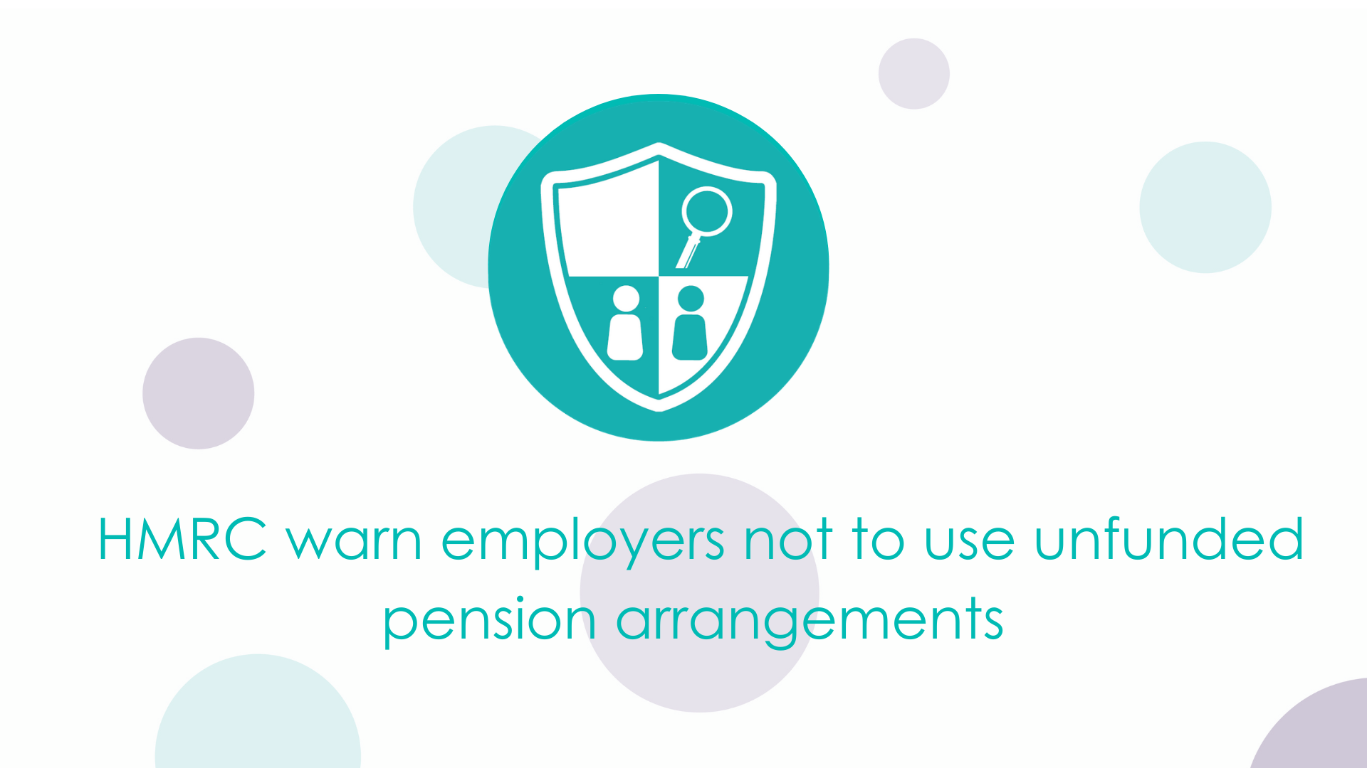 HMRC warn employers not to use unfunded pension arrangements