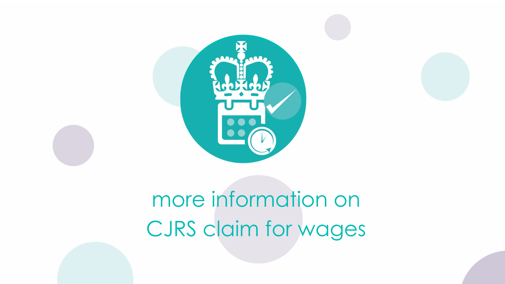 more information on CJRS claim for wages