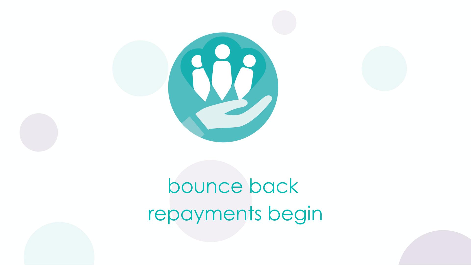 bounce back repayments begin