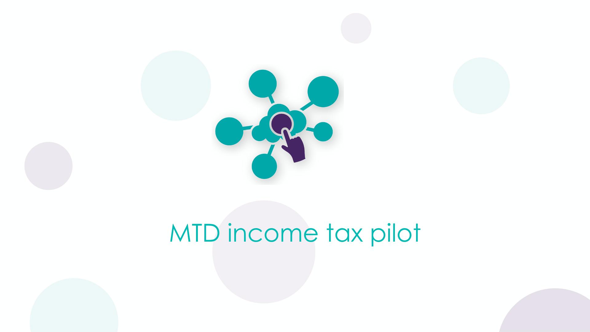 MTD income tax pilot