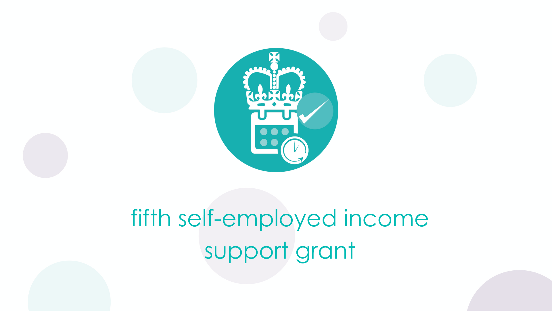 fifth self-employed income support grant to be paid in July