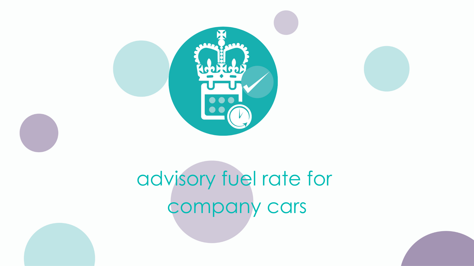 advisory fuel rate for company cars